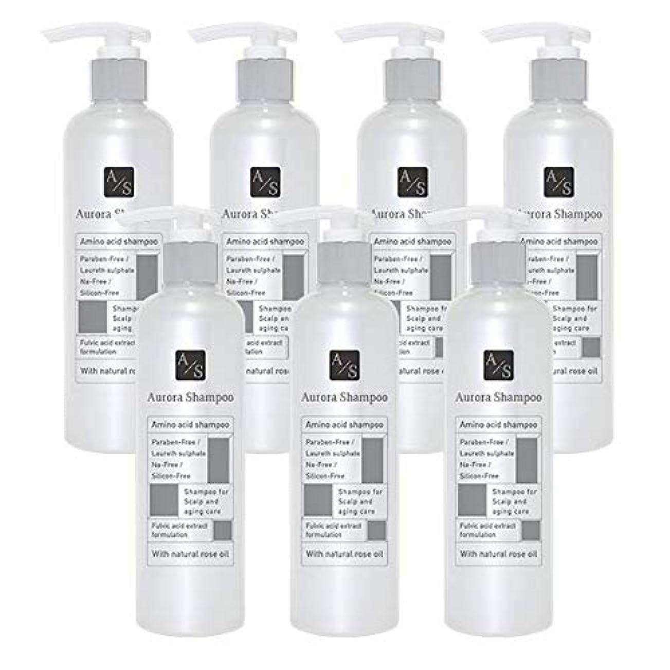 相反する欺くバレエジャポン「オーロラシャンプー」フルボ酸 ミノキシジル誘導体 スカルプケア オーガニックアミノ酸シャンプー300ml (7本限定ラベル)