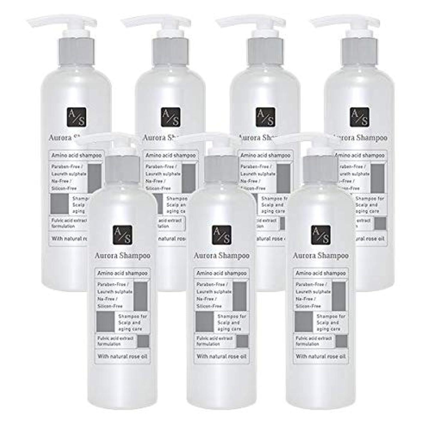いくつかのノミネートスティックバレエジャポン「オーロラシャンプー」フルボ酸 ミノキシジル誘導体 スカルプケア オーガニックアミノ酸シャンプー300ml (7本限定ラベル)