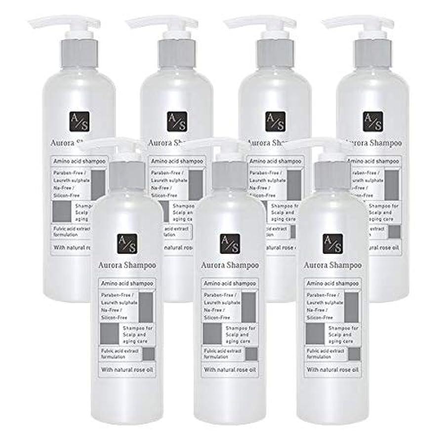 影響ポテトアルカトラズ島バレエジャポン「オーロラシャンプー」フルボ酸 ミノキシジル誘導体 スカルプケア オーガニックアミノ酸シャンプー300ml (7本限定ラベル)