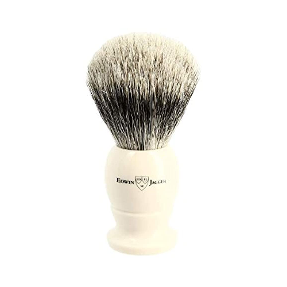 増幅する許容漏斗エドウィンジャガー アイボリー ベストバッジャーアナグマ毛 シェービングブラシ大3EJ877[海外直送品]Edwin Jagger Ivory Best Badger Shaving Brush Large 3EJ877...