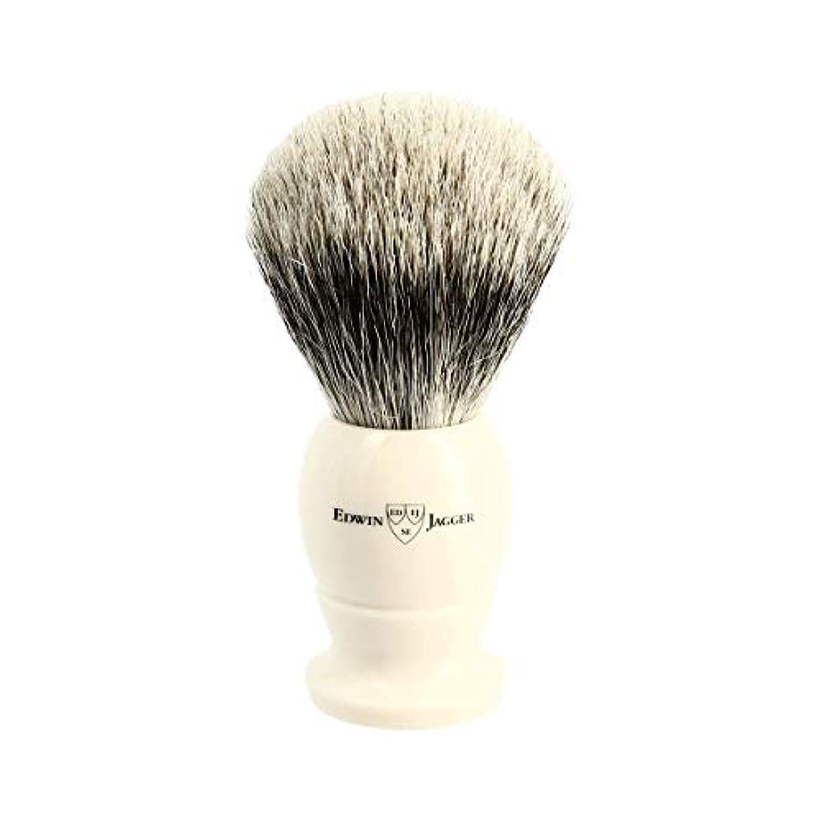鉱石放置タブレットエドウィンジャガー アイボリー ベストバッジャーアナグマ毛 シェービングブラシ大3EJ877[海外直送品]Edwin Jagger Ivory Best Badger Shaving Brush Large 3EJ877...