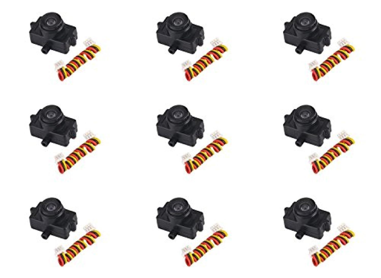 Walkera Rodeo 150 150-Z-21(B) ミニカメラ 600TVL ブラック FPVビデオ9枚。