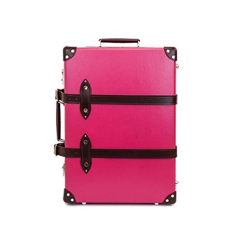 GLOBE TROTTER グローブトロッター Pink/Burgundy キャンディ 21インチ [並行輸入品]