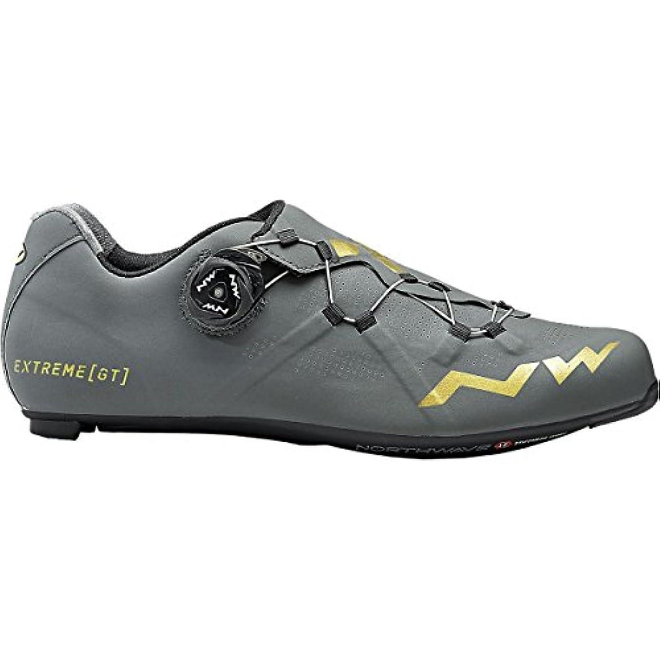 星準備した別々にNorthwave Extreme GT Cycling Shoe – Men 's Anthracite/ゴールド、41.0