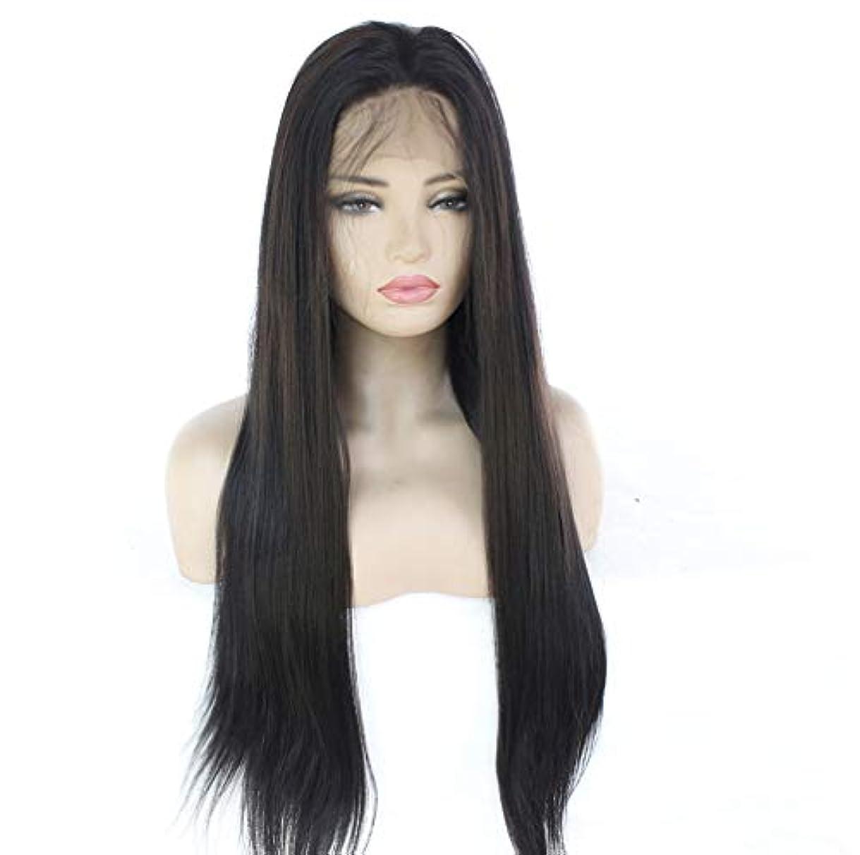明るい打ち負かすブロッサム女性のレースの人間の髪の毛のかつら130%密度ナチュラルレース前頭かつらストレートボブのレースの前部人間の髪の毛のかつら