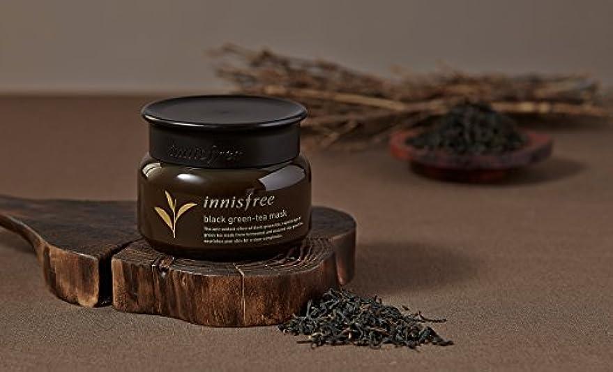 電気陽性またはこんにちは[イニスフリー.innisfree](公式)ブラックグリーンティーマスク80mL(2019.05。新発売)/ Black Green-Tea Mask
