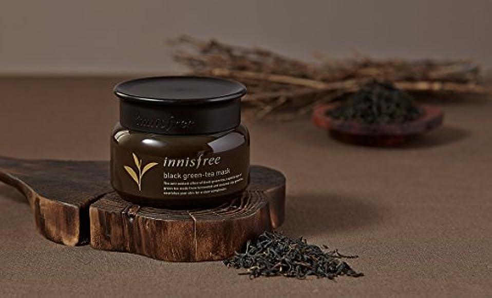 発表バン香り[イニスフリー.innisfree](公式)ブラックグリーンティーマスク80mL(2019.05。新発売)/ Black Green-Tea Mask