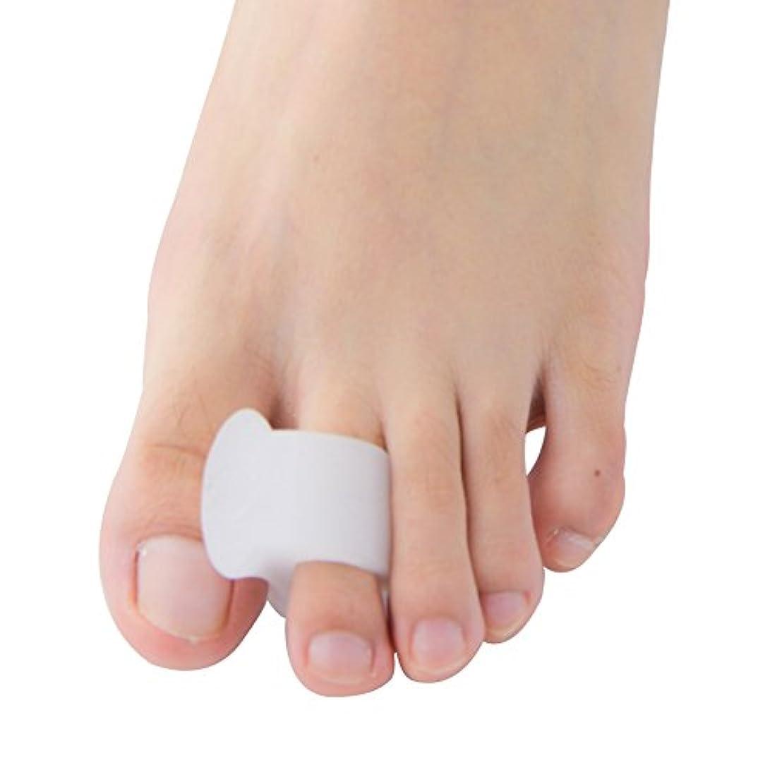 散歩キャンバス不足Povihome ソフトゲル外反母趾セパレーターつま先バニオンプロテクターパッド,柔らかゲルでやさしくサポート (10個入り)