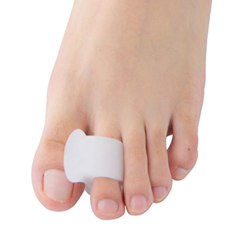 汚れる額排泄するPovihome ソフトゲル外反母趾セパレーターつま先バニオンプロテクターパッド,柔らかゲルでやさしくサポート (10個入り)