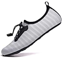 VanciLin Women's Men's Water Shoes Barefoot Quick-Dry Aqua Socks