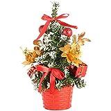 GoodFaith クリスマスツリー クリスマスツリーセット 花付き クリスマスツリー飾り オーナメント おしゃれ キラキラ 雰囲気満々 暖かい 簡単な組立品 飾り 部屋 商店 おもちゃ プレゼント