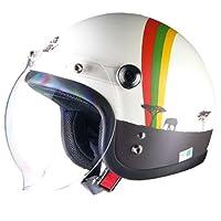 リード工業(LEAD) バイクヘルメット ジェット Street Alice スモールロー アフリカ レディース QP-2 -