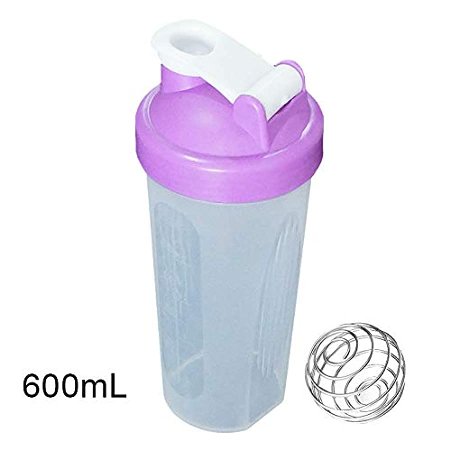 ZaRoing ブレンダーボトル プロテインパウダー揺れ瓶 プロテインシェーカー 栄養補助瓶 400/600ml