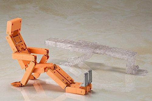 フレームアームズ・ガール 充電くん HRESVELGR&CLEAR COLOR Ver. 全高約180mm NONスケール プラモデル