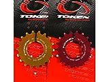 トーケン(TOKEN) アルミ製シングルギヤ TRACK用 15T(TK145)ゴールド 523CSS145C
