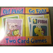 Old Maid & Go Fish - Two Card Games