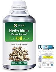 Hedychium (Kapoor Kachari) 100% Natural Pure Essential Oil 5000ml/169fl.oz.