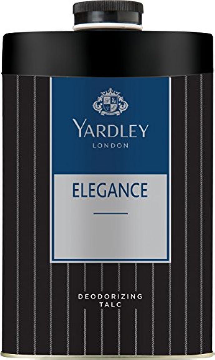 ピボット理想的には芽Yardley London ELEGANCE Deodorizing Talc Talcum Powder for Men 100gm by Yardley