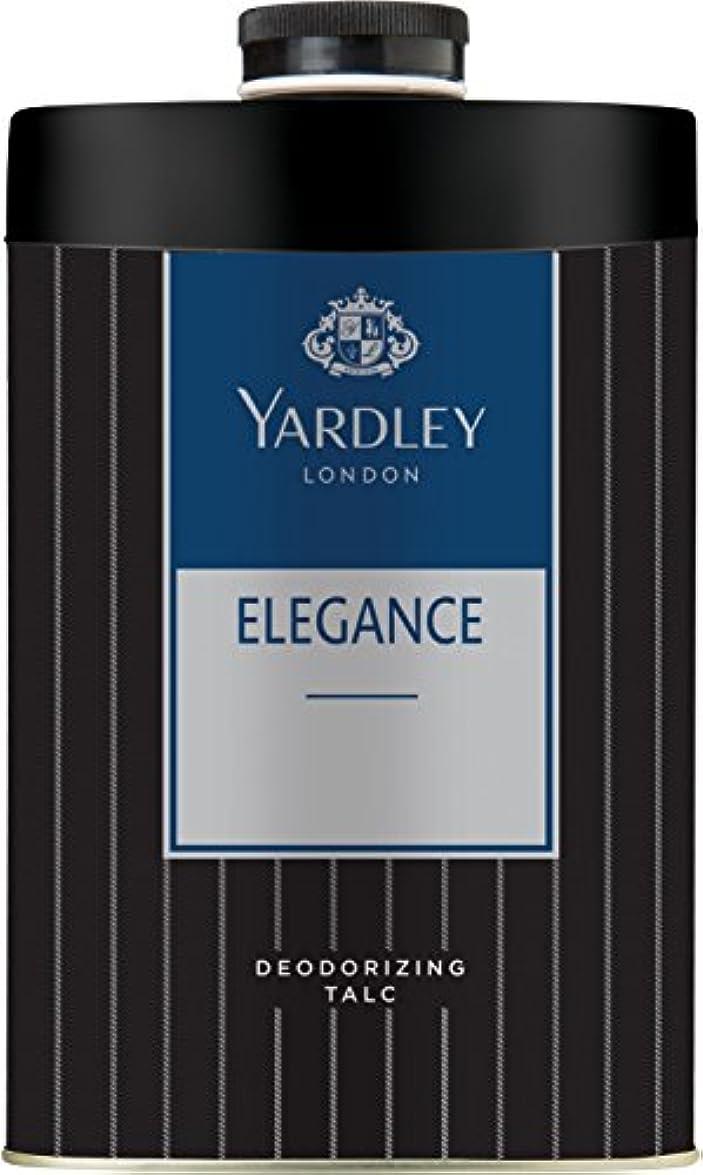 支出事務所事務所Yardley London ELEGANCE Deodorizing Talc Talcum Powder for Men 100gm by Yardley