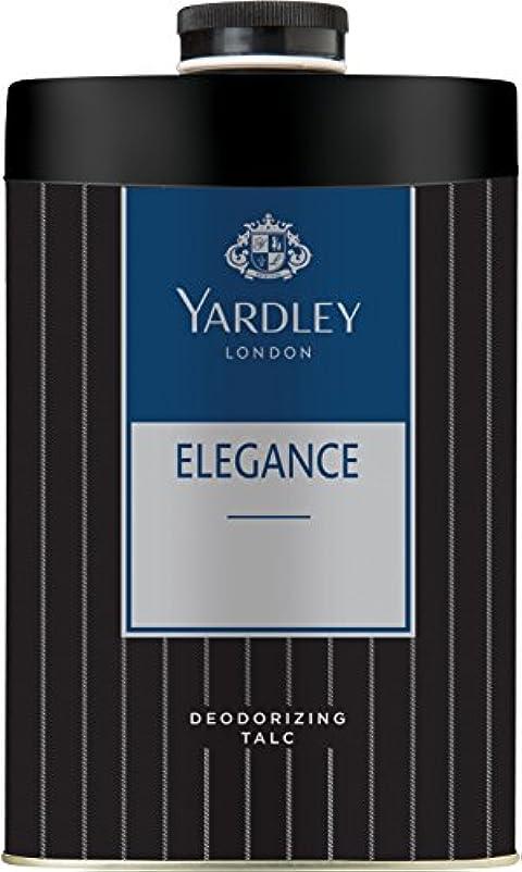 スペイン語高さ息切れYardley London ELEGANCE Deodorizing Talc Talcum Powder for Men 100gm by Yardley