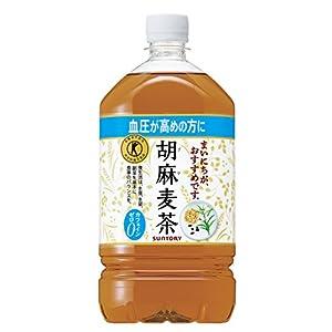 [トクホ] サントリー 胡麻麦茶 1.05L×12本