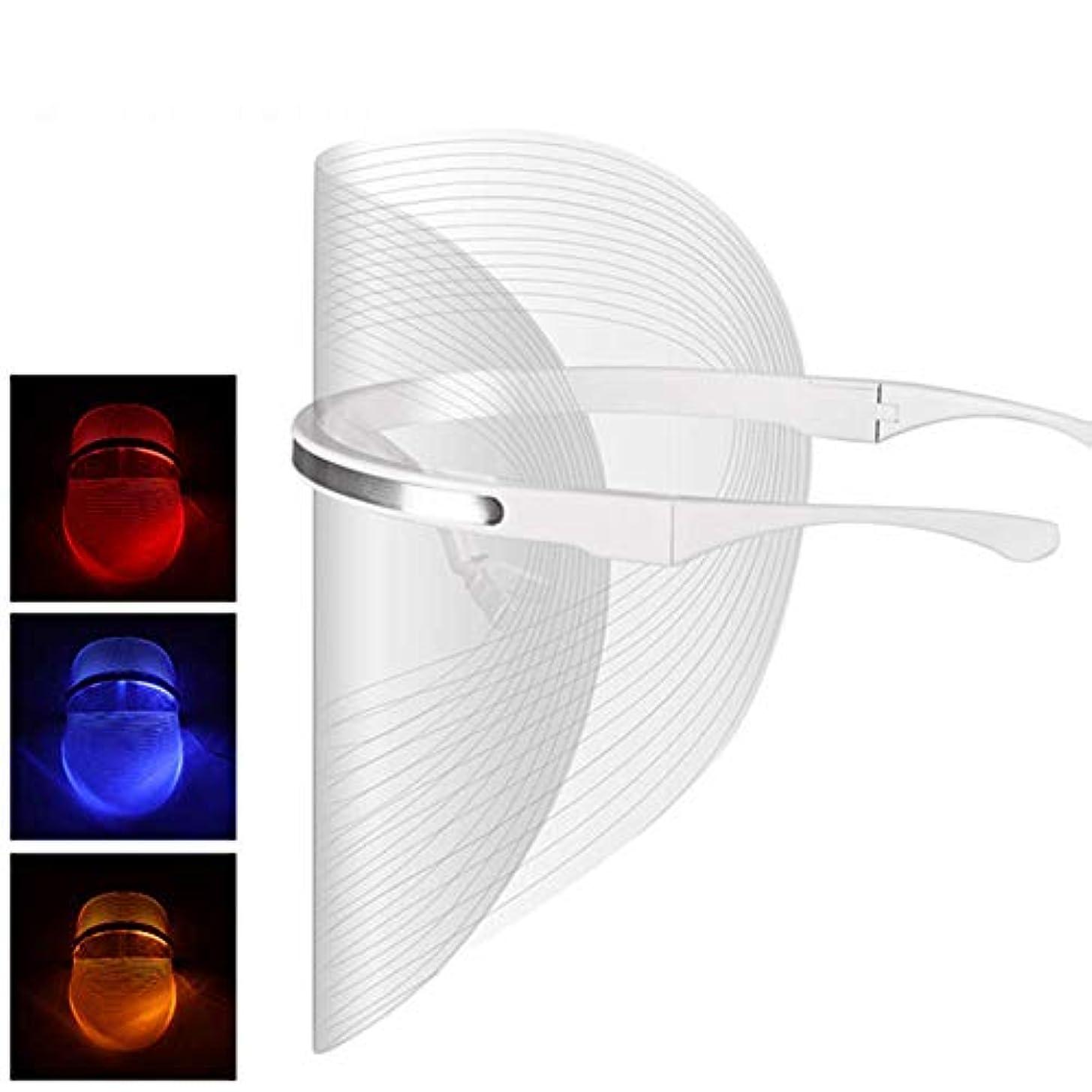 第二哀オーロックLEDの顔のマスクの美の器械のしわの取り外しの顔の皮のフェイスケアは顔のマスクの器械を白くします