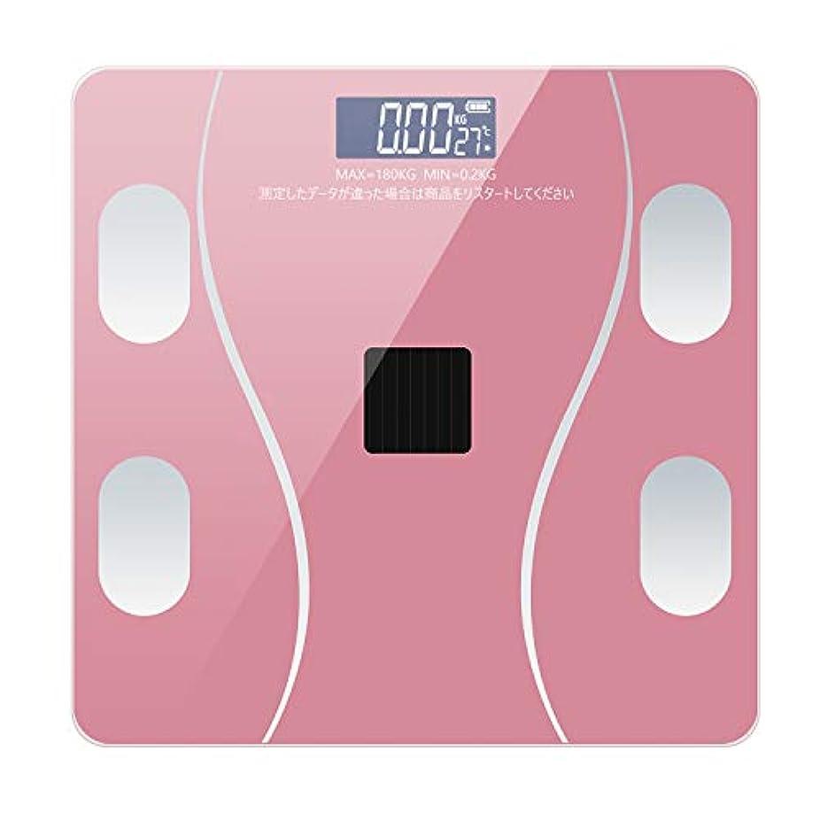 ズボン翻訳する免除TOYOTO 体重計 体組成計 体脂肪 体重秤 スマホ連動可能 ボディスケール 体重/基礎代謝量/脂肪率/内蔵脂肪/体脂肪率測定可能 Bluetooth対応 アプリで健康管理 (ローズゴルード, C1)