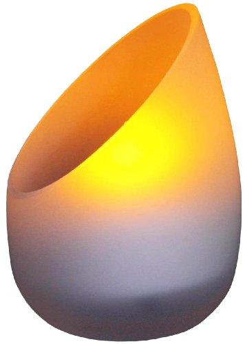 ムサシ RITEX LEDキャンドルライト 「ゆらめく暖色光」