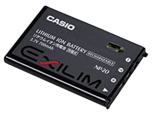 CASIO リチウムイオン充電池 NP-20