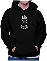Keep calm and love Emmy フーディー