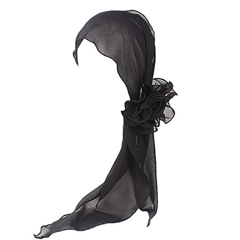 爆発するテザー苦いヘッドスカーフ ハット 帽子 Timsa レディース スカーフキャップ 花の形 ヘッドスカーフ 睡眠 抗UV 脱毛症 化学療法の患者のために バイザー 夏用帽子 イスラム教徒 フヘッドバンド スカーフ ヒジャブ 山の日...