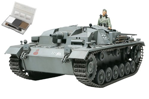タミヤ スケール限定シリーズ 1/35 ドイツ III号突撃砲 B型  ウェザリングマスター付き  25129
