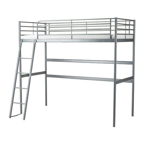 RoomClip商品情報 - IKEA(イケア) SVARTA ロフトベッドフレーム シルバーカラー