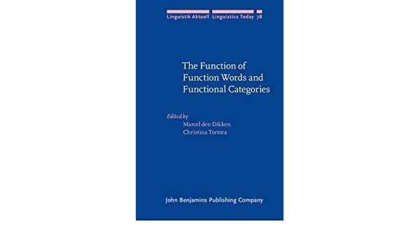 amazon the function of function words and functional categories