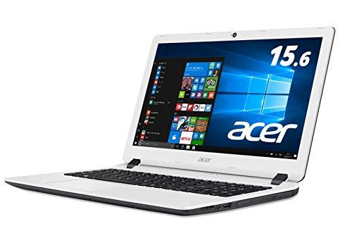 Acer ノートパソコン Aspire ES1-533-N14D/W(ホワイト) Windows10/Celeron/15.6インチ/4GB/500GB