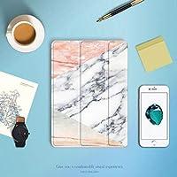 AL iPadケース ソフト TPU ケース iPad 9.7 2017 2018 A1893 PU スマート カバー マグネットウェイクアップ スリープ iPad 2017 A1822 A1823 Pink AL-AA-6367-T002