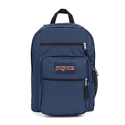 (ジャンスポーツ)JANSPORT BIG STUDENT NAVY BAG、新学期のカバンバックパック、学生カバン、収納空間のかばん [並行輸入品]