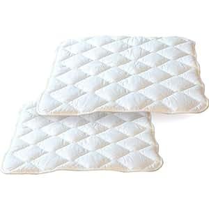 エムール 折畳みベッド メホール専用 ベッドパッド2枚組 シングル 抗菌 防臭 防ダニ 日本製