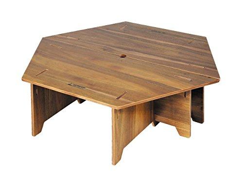 キャプテンスタッグ(CAPTAIN STAG) テーブル ヘキサセンターテーブル 収納バッグ付き CSクラシックス UP-1040