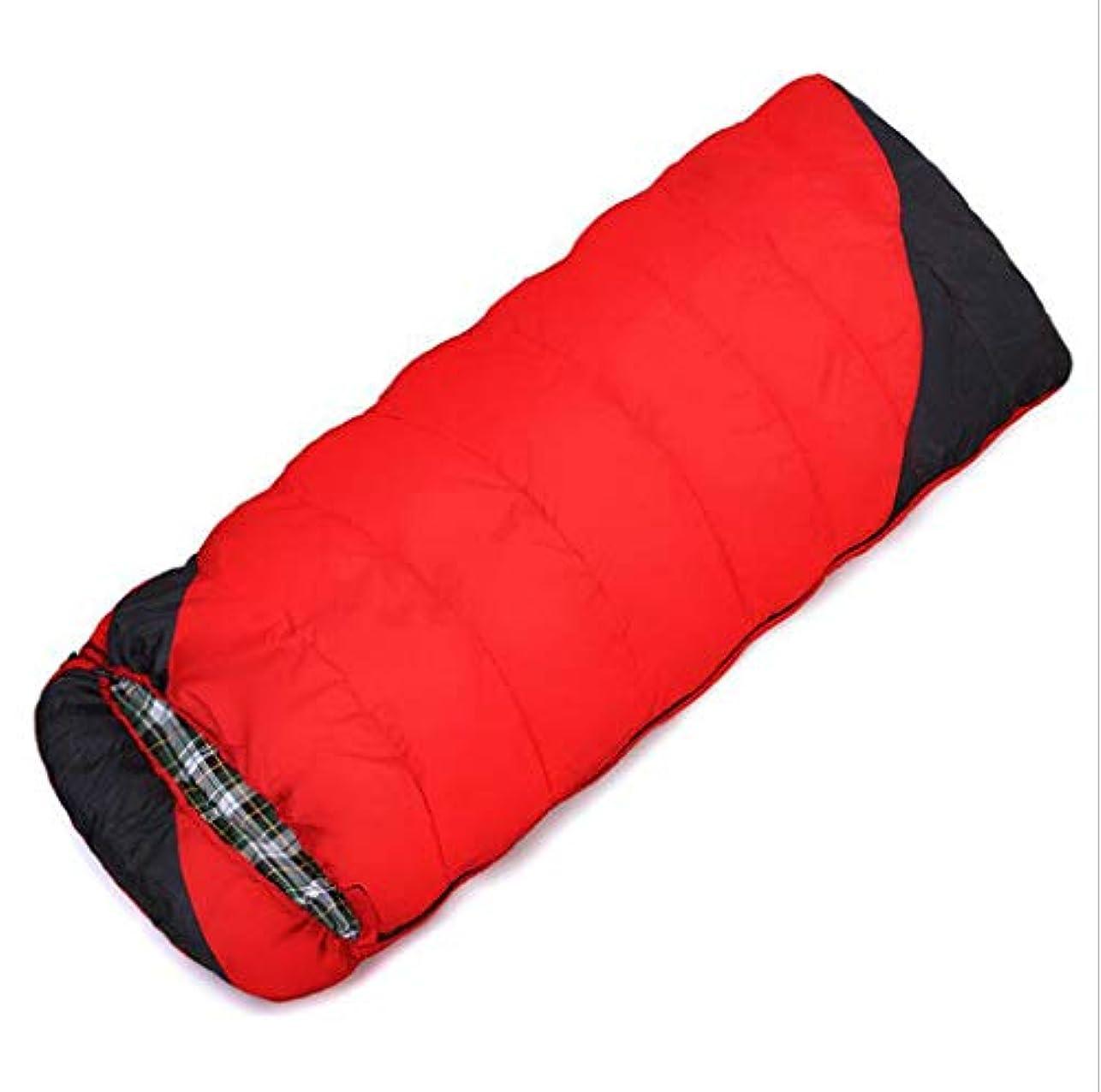歪める幾分ひねくれたJSHFD 寝袋 冬 アウトドア キャンプ 封筒 フード付き ダウン 寝袋 大人 キャンプ 旅行 寝袋