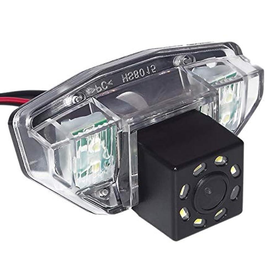 受け継ぐネストシンカンNoblik 車の背面図のカメラ逆転駐車 スペア8Ledカメラ Crv 2006 2007 2008 2009 2010 2010に適用