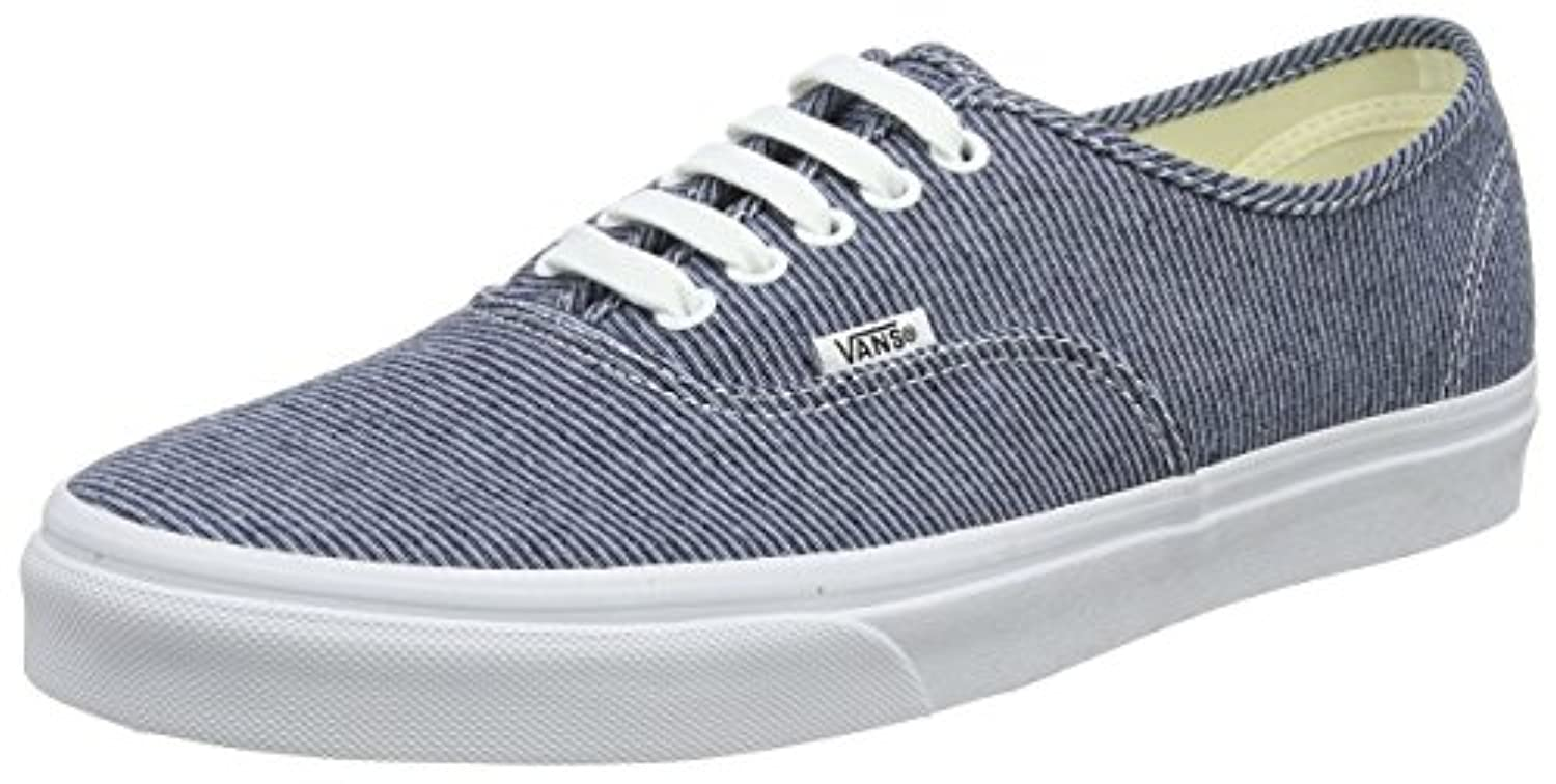 Vans Womens Authentic Low Top Lace Up Canvas Skateboarding Shoes