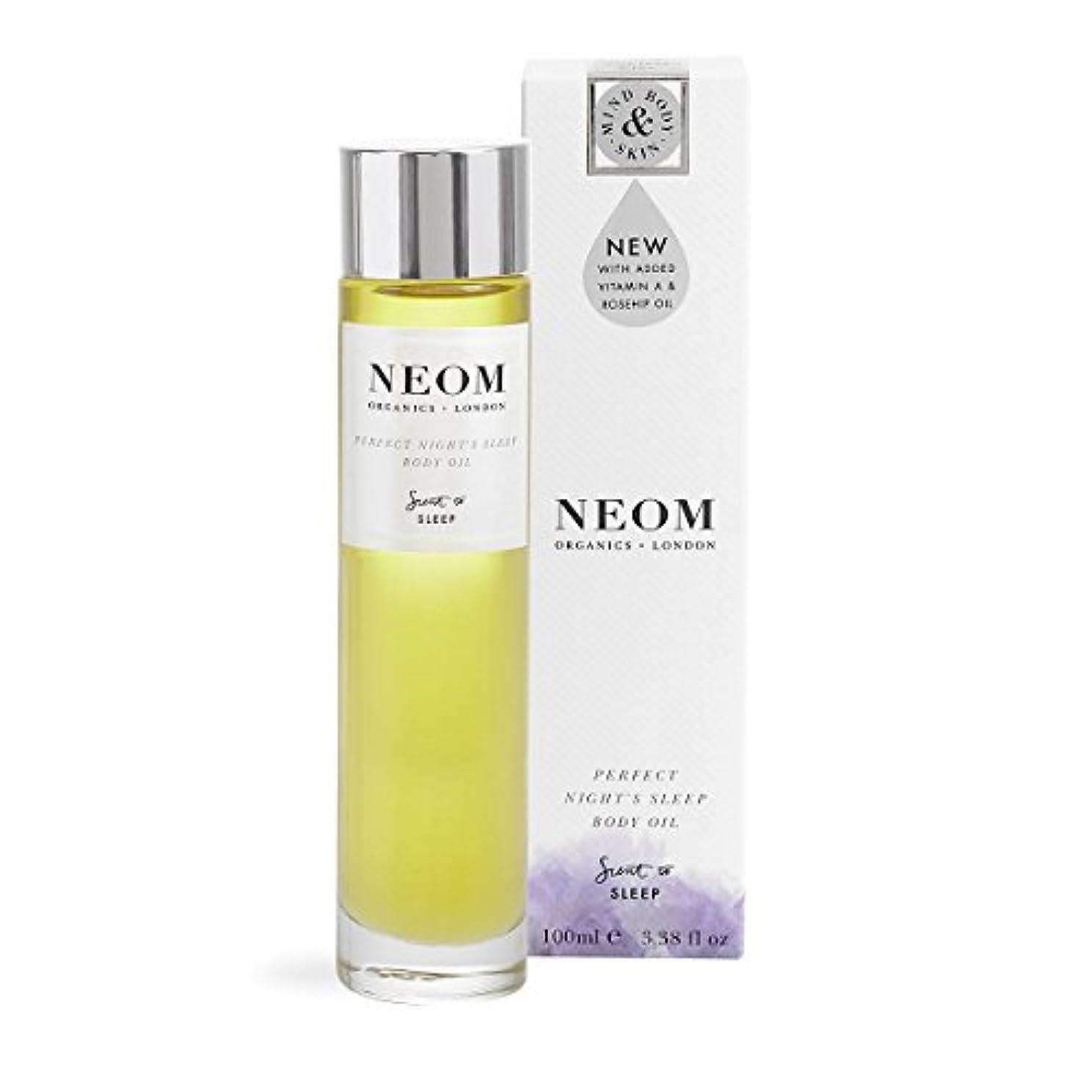 トラクターアレルギー性原子NEOM ボディオイル PERFECT NIGHT'S SLEEP (SLEEP)