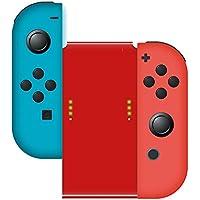 Nintendo Switch グリップ 良值 (IINE) 任天堂スイッチ 充電 Joy-con用 ジョイコン ハンドル コンフォートグリップ サポートホルダー 赤 レッド