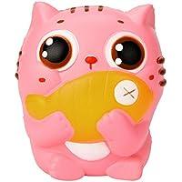 serzul 10 cm Cute Kittyクリーム香りつきSquishy Slow Risingスクイーズストラップ子供おもちゃギフト 10cm*8m*8cm 20
