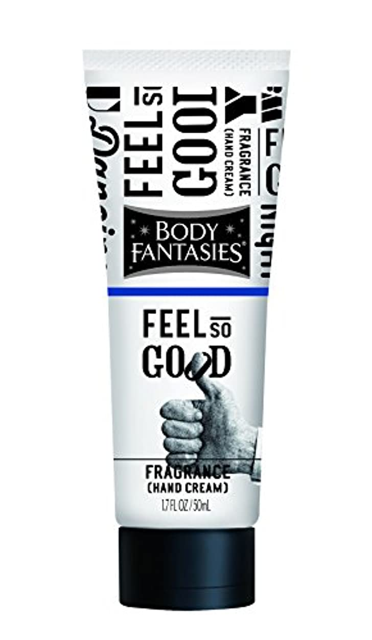 ストレスの多い根拠呼びかけるボディファンタジー フレグランスハンドクリーム フィール ソー グッド FEEL SO GOOD 50ml