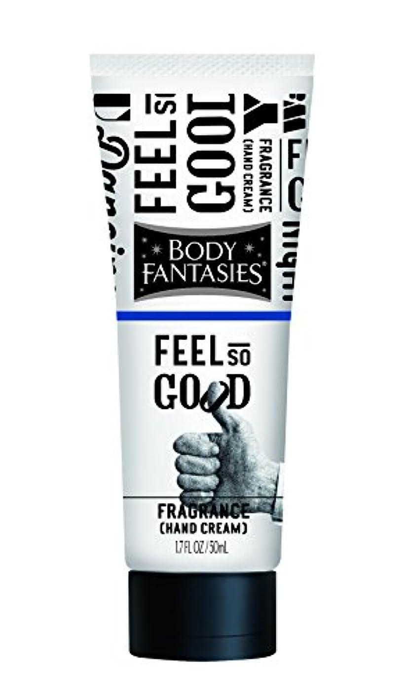 池鮮やかな準備するボディファンタジー フレグランスハンドクリーム フィール ソー グッド FEEL SO GOOD 50ml