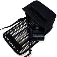 suono(スオーノ) LUMIX LX100M2ケース(ブラック・アルバグレイ) -ハンドメイド