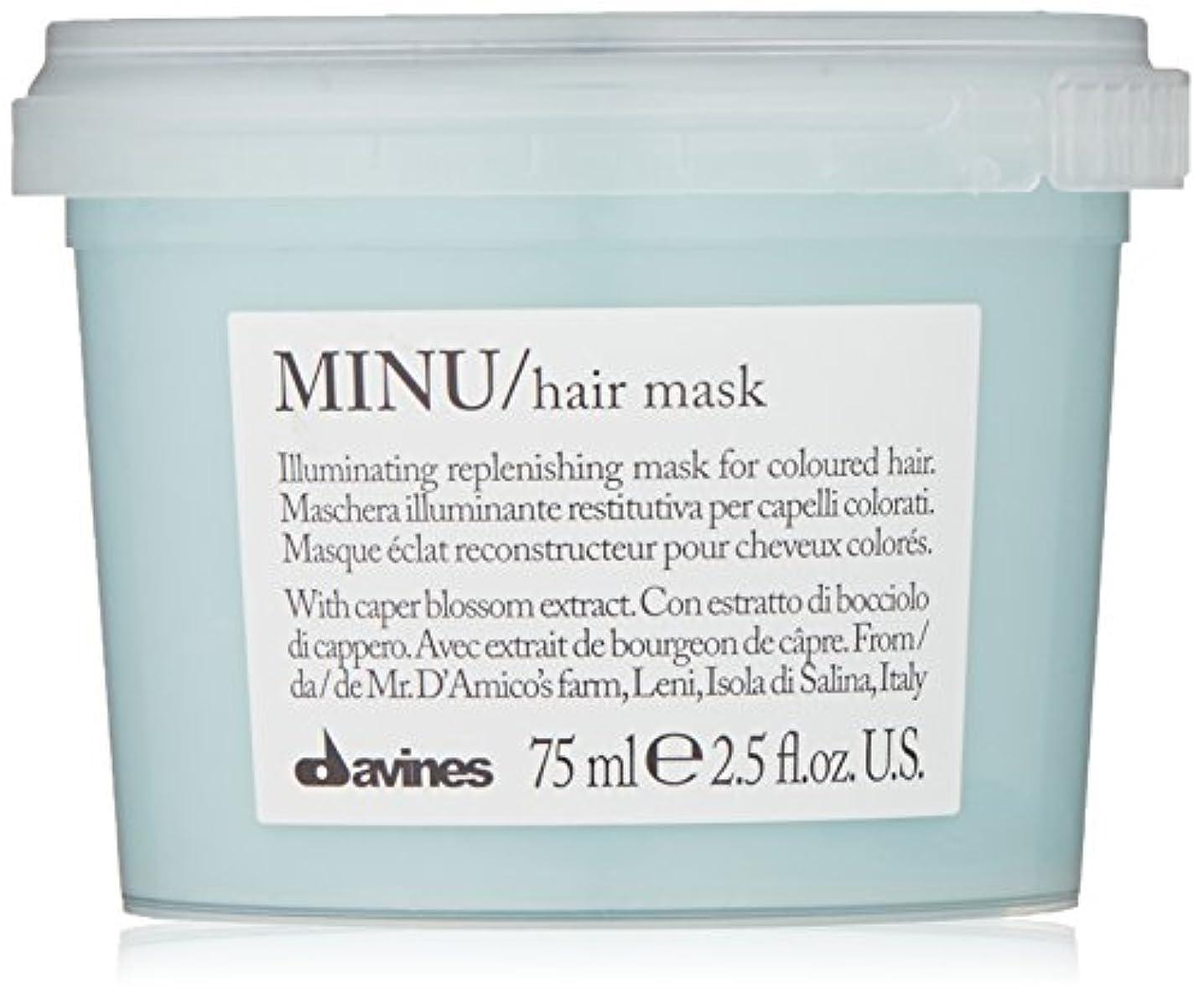 変換主婦サイトラインdavines-hair Mask Minu Davinesフォーマットトラベル75 ML