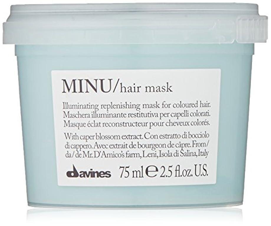 自転車バイオレット高架davines-hair Mask Minu Davinesフォーマットトラベル75 ML
